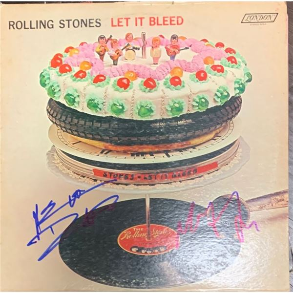 Signed Let It Bleed Album