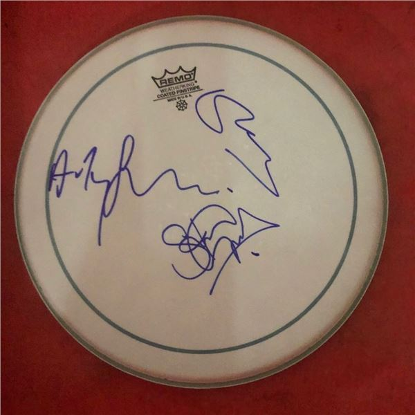 Signed Police Drumhead