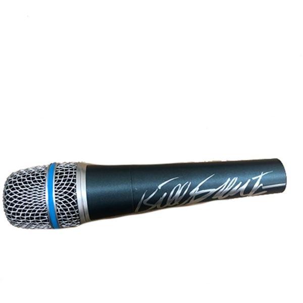 Signed Grateful Dead Bill Kreutzman Microphone