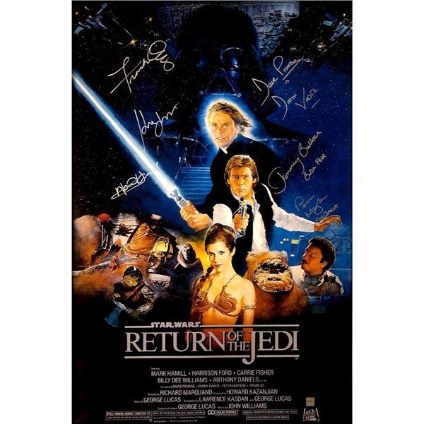 Signed Star  Wars  Episode  VI:  The  Return  Of  Jedi Movie Poster