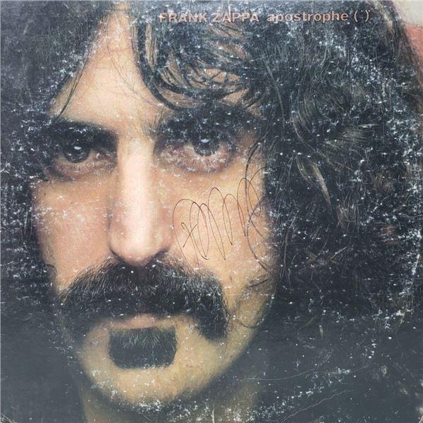 Signed Frank Zappa, Apostrophe Album Cover