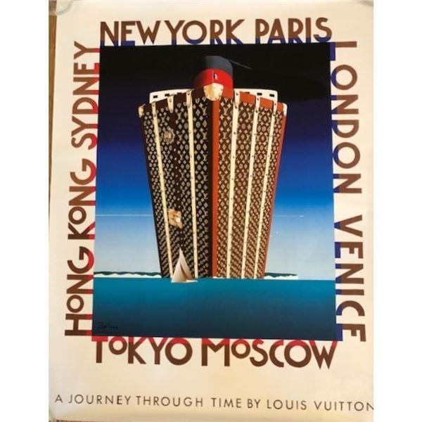 Journey Through Time Louis Vuitton Sailing Poster