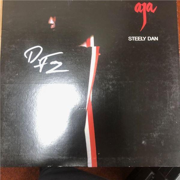 Signed Steely Dan Aja Album Cover