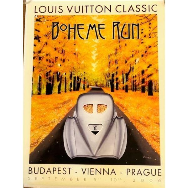 Louis Vuitton Boheme Run 2006 Poster