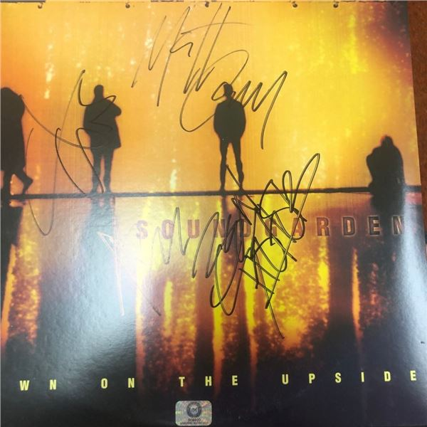 Signed Soundgarden Down On The Upside Album Cover
