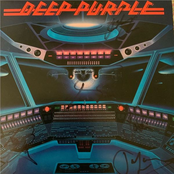 Signed Deep Purple When We Rock, We Rock and When We Roll, We Roll Album Cover