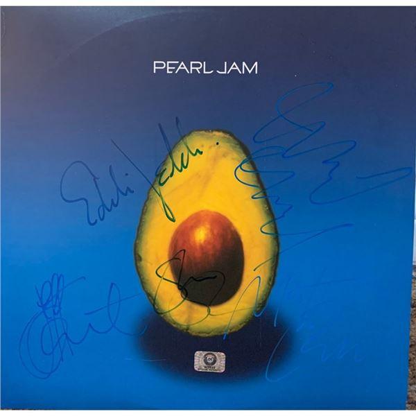 """Signed Pearl Jam """"Avocado Album"""" Cover"""