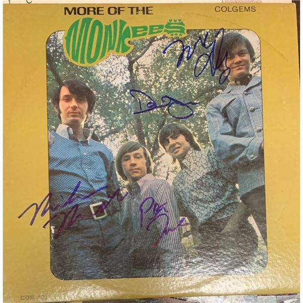 Signed The Monkees, More of the Monkees Album Cover