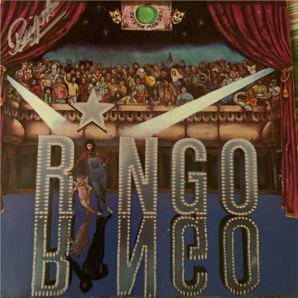 Signed Ringo Starr, The Ringo Starr Album Cover