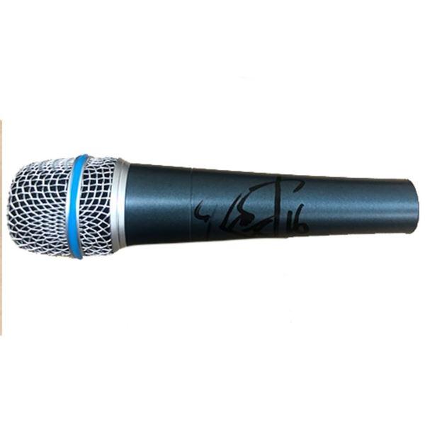 Signed Metallica Robert Trujillo Microphone