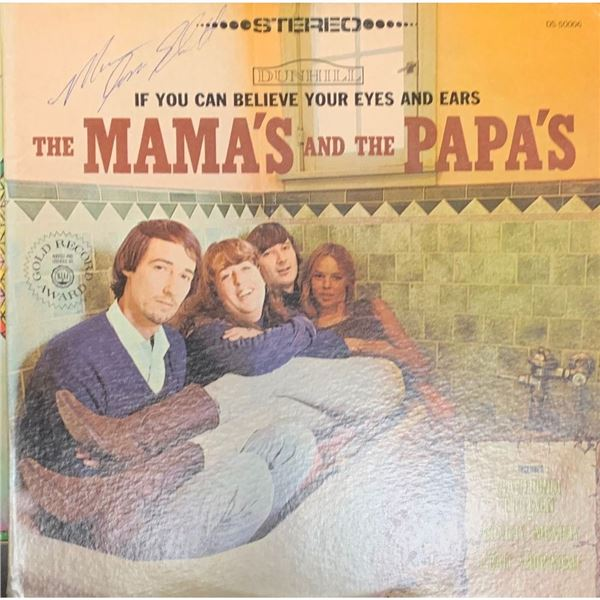 Signed The Mamas and The Papas, If You Can Believe Your Eyes and Ears Album Cover