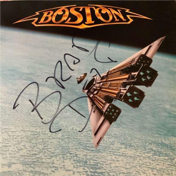 Signed Boston Third Stage Album Cover