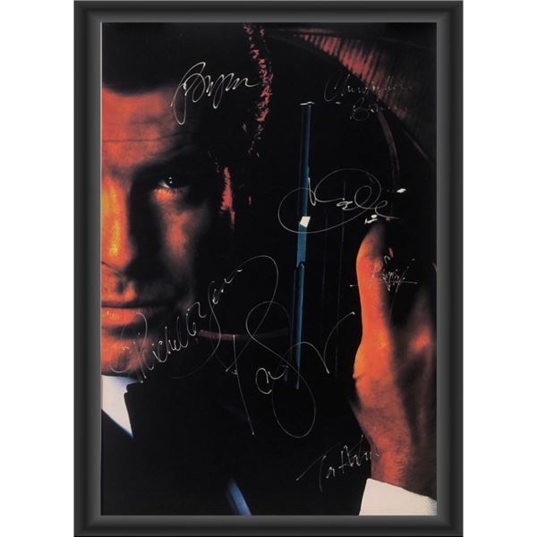Signed James Bond Die Another Day Movie Poster