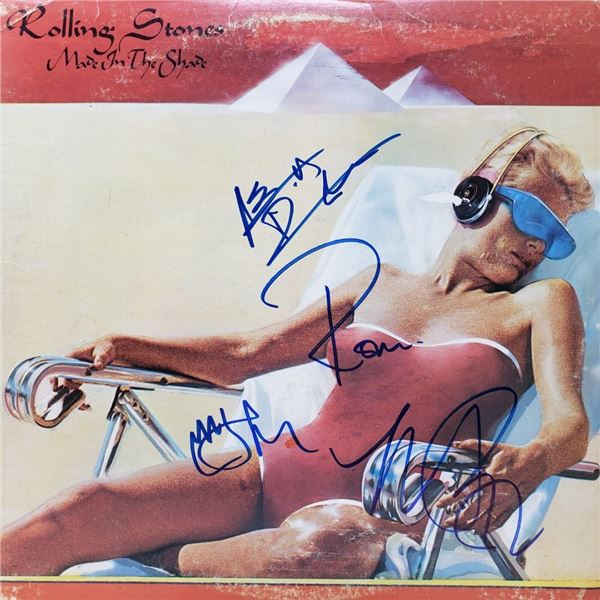 Signed The Rolling Stones, Made In The Shade Album Cover