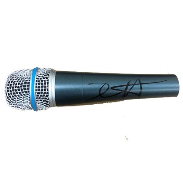 Signed Metallica Kirk Hammett Microphone