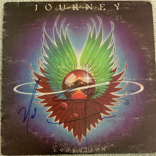 Signed Journey, Evolution Album Cover