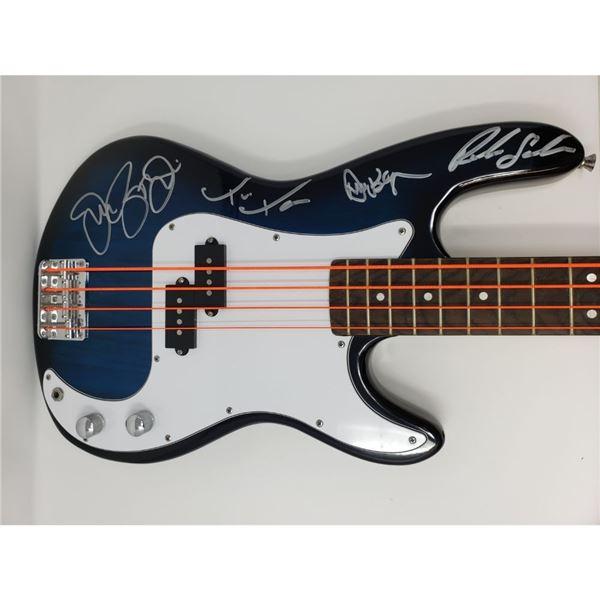 Signed Bon Jovi Bass Guitar