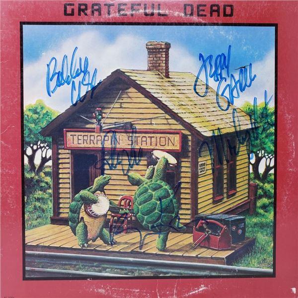 Signed Grateful Dead , Terrapin Station Album Cover