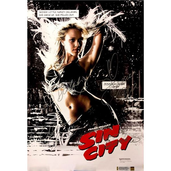 Signed Sin City Poster