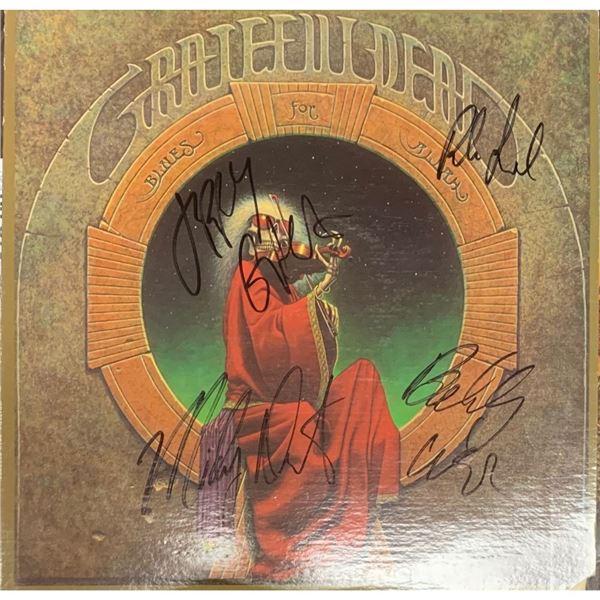 Signed Grateful Dead Blues For Allah Album Cover