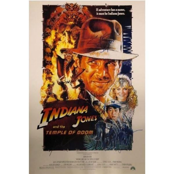 Indiana Jones Temple of Doom Poster