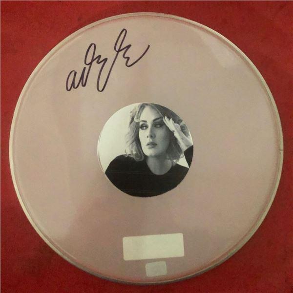 Signed Adele Drumhead