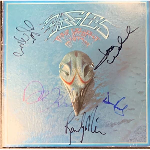 Signed The Eagles, Greatest Hits Album Cover
