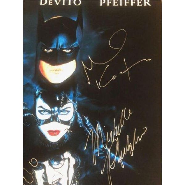 Signed Batman Returns Movie Poster
