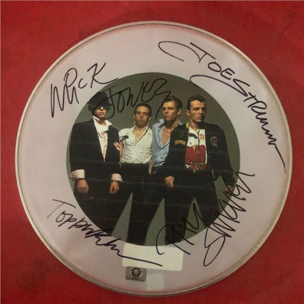 Signed Clash Drumhead