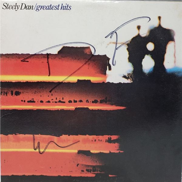 Signed Steely Dan Greatest Hits Album Cover