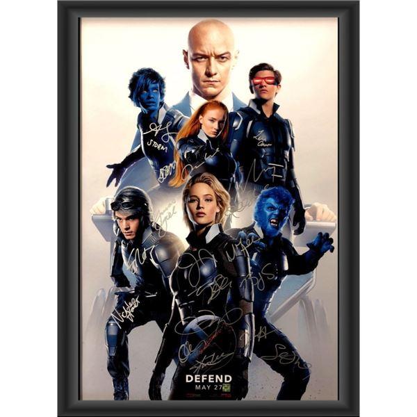 Signed X-Men: Apocalypse Movie Poster