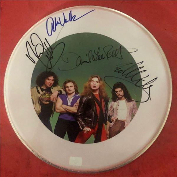Signed Van Halen Drumhead
