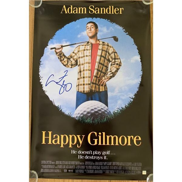 Signed Happy Gilmore Movie Poster