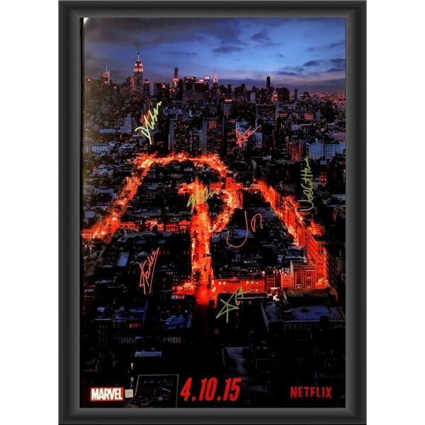 Signed Daredevil Movie Poster