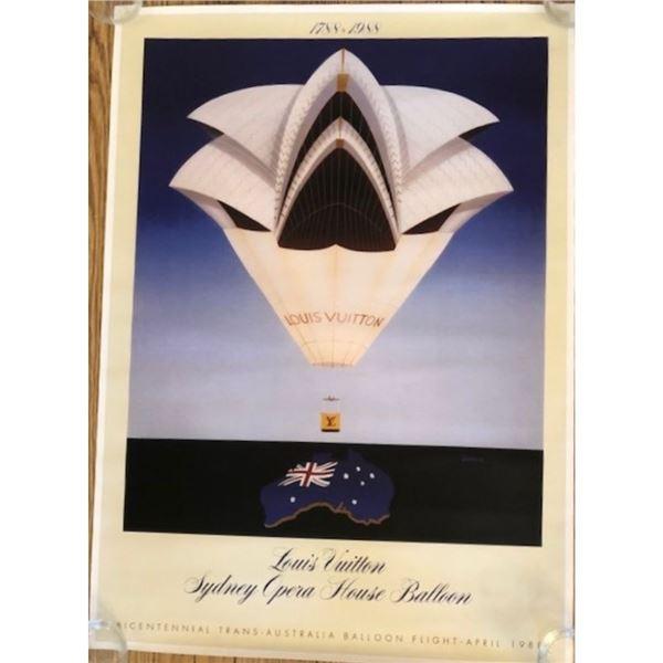 Louis Vuitton Sydney Opera House Balloon Poster