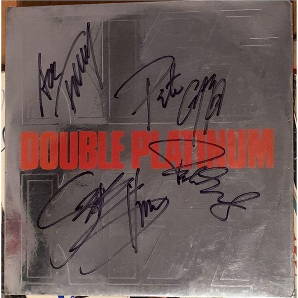 Signed Kiss Double Platinum Album Cover