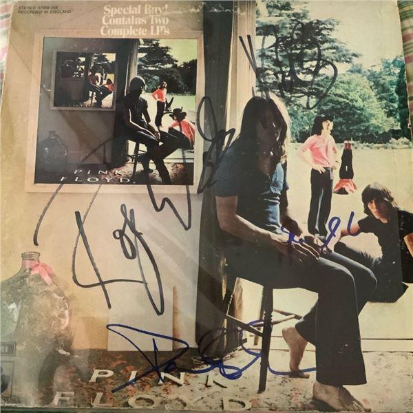 Signed Pink Floyd Ummagumma Album