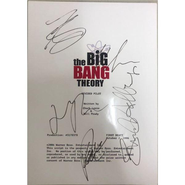 Signed Big Bang Theory Script