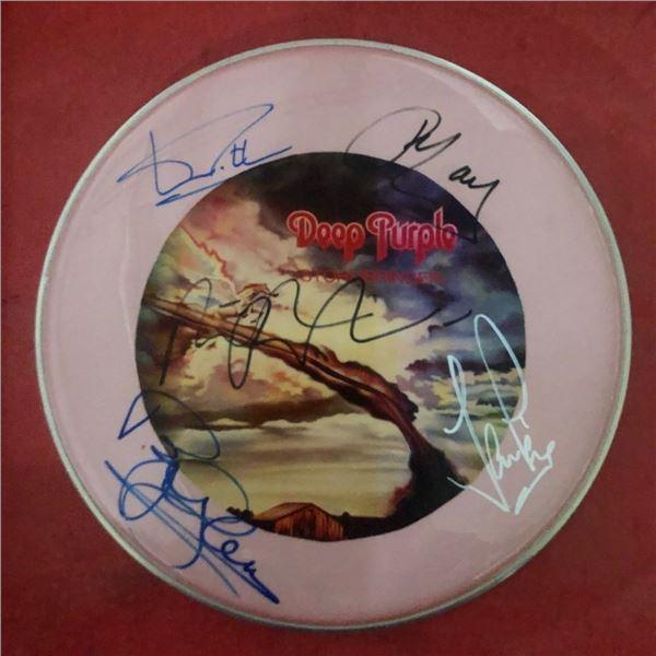 Signed Deep Purple Frumhead