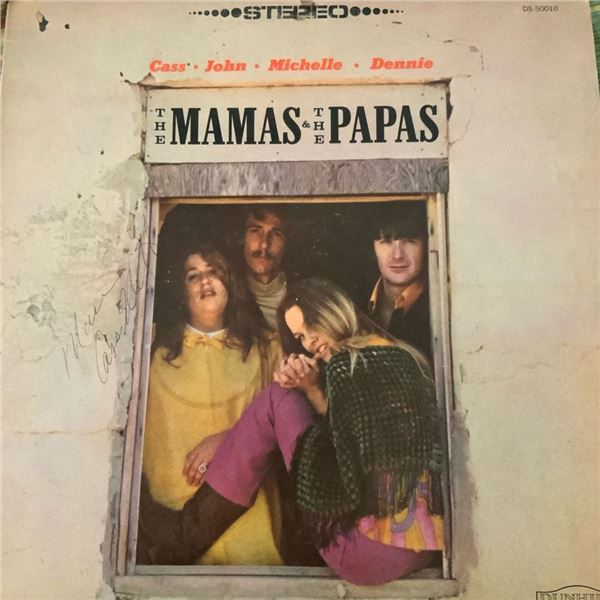 Signed The Mamas & The Papas Album Cover