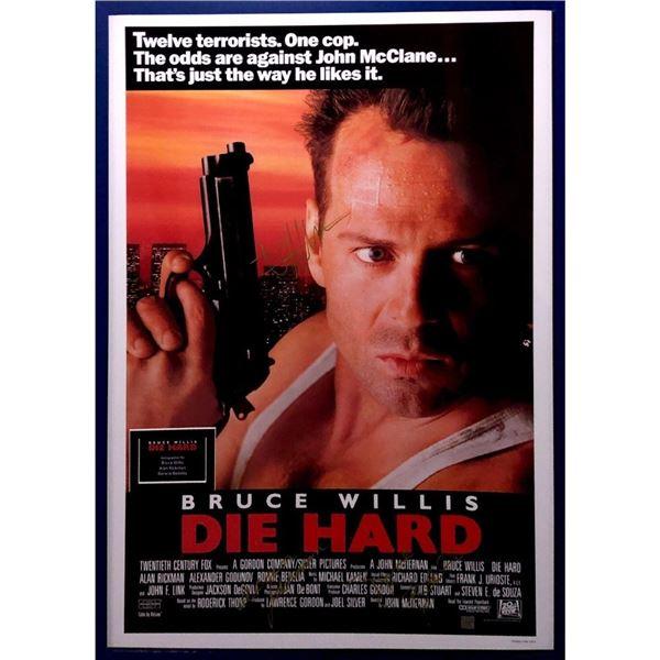 Signed Die Hard Poster