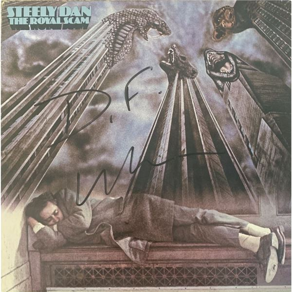 Signed Steely Dan The Royal Scam Album