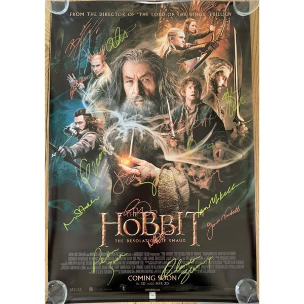 Signed he Desolation of Smaug Movie Poster