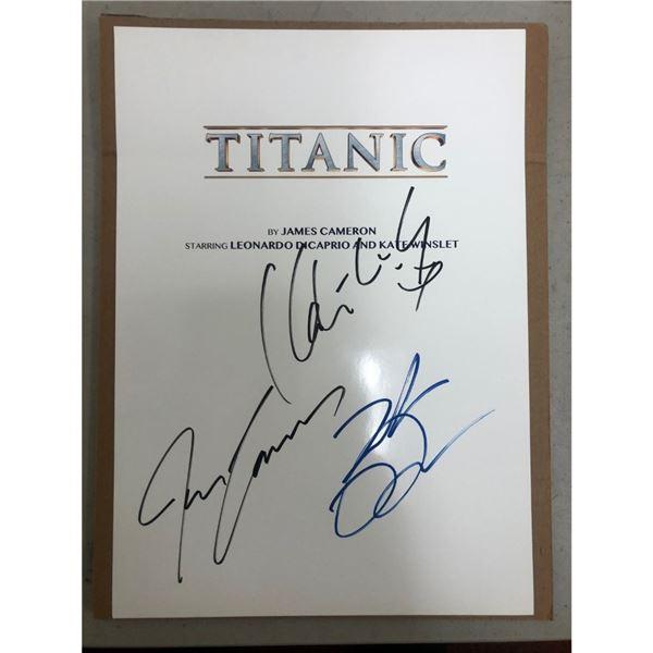 Signed Titanic Script