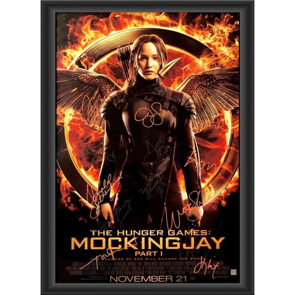 Signed Hunger Games: Mockingjay Part 1 Movie Poster