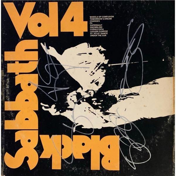 Signed Black Sabbath Vol. 4 Album Cover