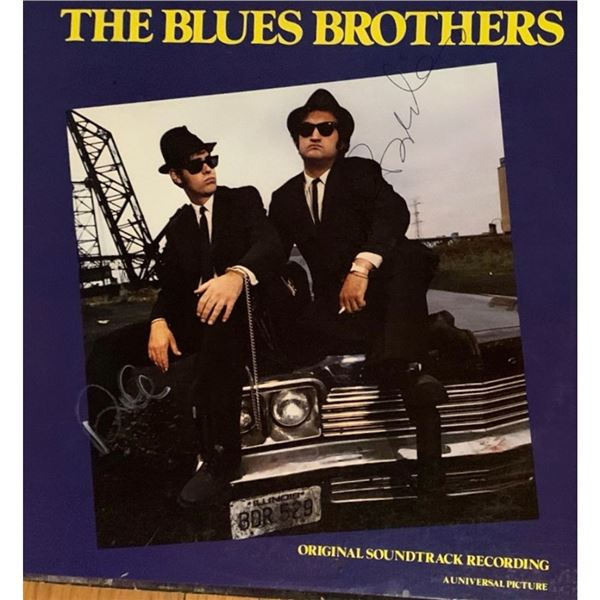 Signed Blues Brothers Soundtrack Album Cover