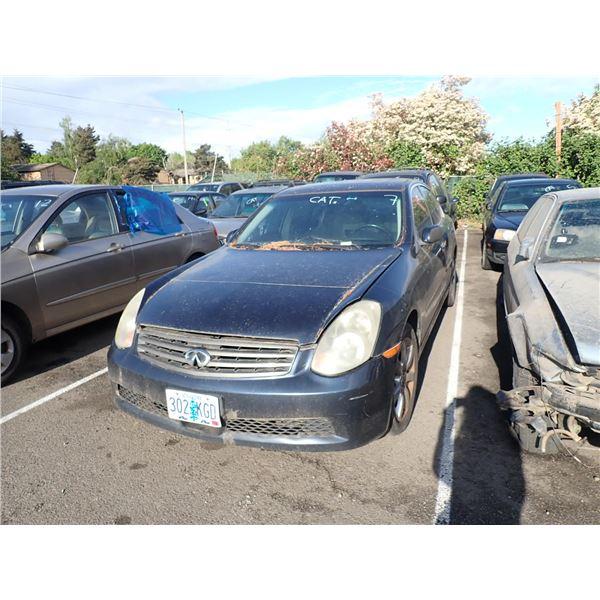 2005 Infiniti G25x
