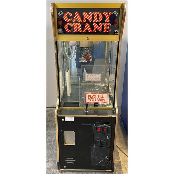 Candy Crane Arcade Game