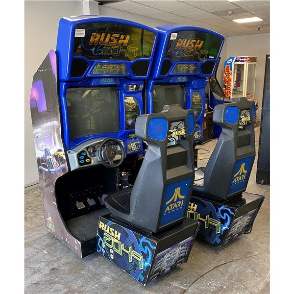 Set of Two San Francisco Rush 2049 Race Arcade Games